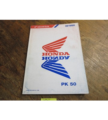 Shop Manual, (für PK 50)