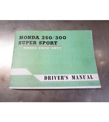 Drivers Manual (für CB 72, CB 77)